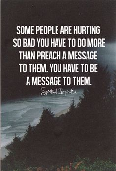 """spiritualinspiration: """"There are hurting people everywhere, but at times we just don't know what to say or do to ease their pain. Here are six practical ways to bear someone else's burden. Be there...."""