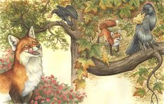 Aesop's Fables | The fox and the crow