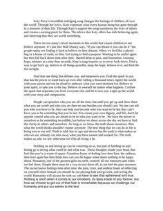 how to finish personal statement