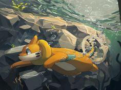 Pokemon - Buizel