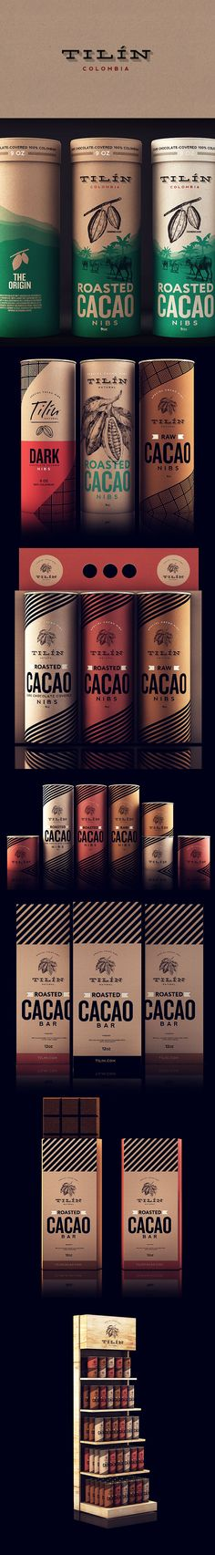 This design puts cocoa and chocolate right in the category of high end products, where they actully belong.
