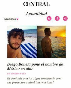 Diego Boneta Group: [NOTA] Diego Boneta pone el nombre de México en al...
