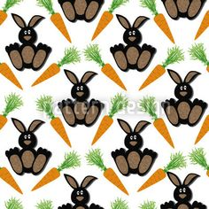 Bunny Bunny designed by Anny Cecilia Walter, vector download available on patterndesigns.com Bunny Bunny, Cute Bunny, Easter Bunny, Coloring Easter Eggs, Vector Pattern, Abstract Pattern, Rooster, Ornaments, Patterns