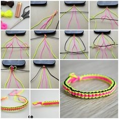 How to Make Friendship Bracelets out of String » Cool Creativity