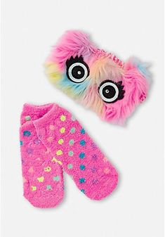 Justice Girl/'s 2 Pack Initial and Striped Ped Socks One Size Fits Most NWT