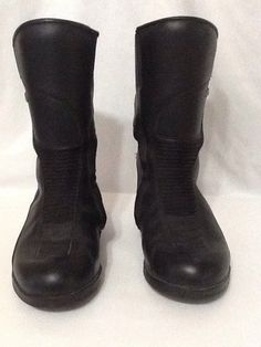 3fe27c5ebfb Forma Womens Ruby Motorcycle Boots US sz 6 Black