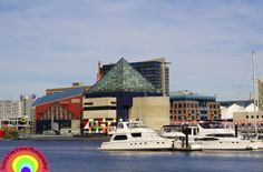 Baltimore Inner Harbor - from an engagement shoot