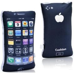 This iPhone 4 Style Shaped Pillow is so soft! It makes you feel very comfortable.It is perfect for cars, the office or for your home.   Kids at school will go crazy over it, and it is perfect for anyone who loves Apple products.