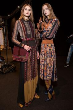 Etro Fall 2015 Backstage
