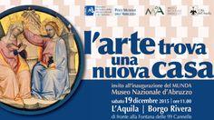 """Museo nazionale d'Abruzzo """"Quando riapre un museo è sempre festa"""""""