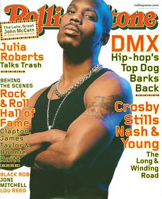 Rapper DMX has talked about having manic depression in his songs Word Up Magazine, Black Magazine, Aaliyah Pictures, Bonnie Raitt, Hip Hop Quotes, Motown, No One Loves Me, Rolling Stones, My Music