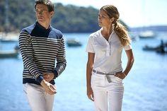 Stylish yacht crew uniforms | ©Anchors & Dove
