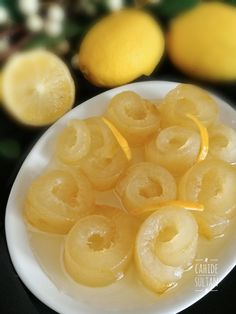 Miss kokulu limon kabuğu reçeli