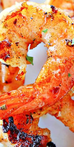 Easy Grilled Shrimp Best Seafood Recipes, Shrimp Recipes, Salmon Recipes, Fish Recipes, Drink Recipes, My Recipes, Dinner Recipes, Favorite Recipes, Healthy Recipes