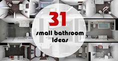 If you're looking for a perfect design for your small bathroom, you should read this article because it brings you 46 useful small bathroom ideas to show you how decorate...