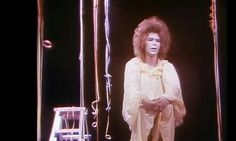 """davidssecretlover: """"David Bowie in Lindsay Kemp's production of Pierrot in Turquoise or The Looking Glass Murders. Photograph Scottish Television video here source """""""