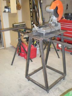 13 Best Chop Saw Stand Images Cool Welding Projects