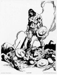 Not Pulp Covers • brianmichaelbendis: John Buscema ~ The Conan Portfolio