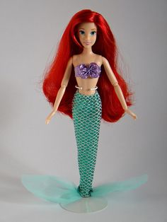 The Little Mermaid Dolls | Ariel - Disney Store Classic Film 12'' Doll - Full Front View #1