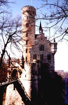 Lichtenstein Castle near Stuttgart, Germany