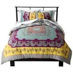 Lola Reversible Comforter Set Multicolor - Boho Boutique™ : Target