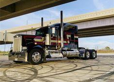Big Rig Trucks, Semi Trucks, Cool Trucks, Custom Big Rigs, Custom Trucks, Gas Monkey Garage, Kenworth Trucks, Heavy Truck, Tractors