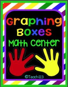 Graphing Boxes Math Center: Graphing boxes - math center is an easy center to set up. Use these forms to integrate your fairy tale unit, science, social studies, or other literacy lessons. paid