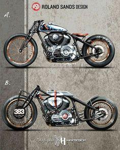 #rolandsandsdesign #custommotorcycles   caferacerpasion.com