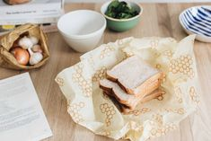 {New Habits} How to reduce food waste. zero waste, eco living, beeswax wraps