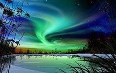 Northern Night skies
