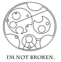 circular gallifreyan tattoo - Google Search