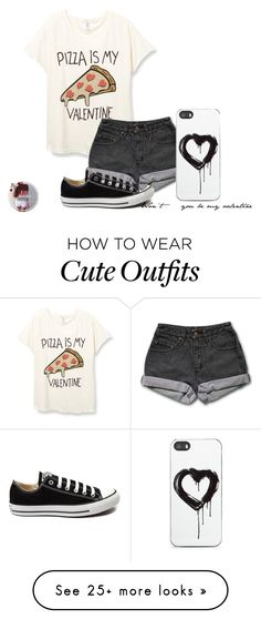 """This is the simplest outfit I've ever made but it's also really cute"" by spiritanimal562 on Polyvore featuring PèPè, Converse, Zero Gravity, women's clothing, women, female, woman, misses and juniors"