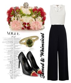 tamed and whimsical by marhay-ini on Polyvore featuring polyvore moda style Lipsy Yves Saint Laurent Alexander McQueen Ruth Tomlinson fashion clothing