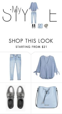 """""""My style"""" by saphiralol ❤ liked on Polyvore featuring MANGO, Max&Co., Armani Jeans, Roberto Coin, fashionset and polyvoreset"""