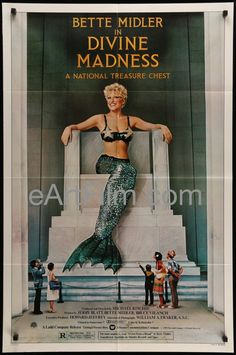 Divine Madness!, Michael Ritchie's musical concert comedy starring Bette Midler, Jocelyn Brown, Ula Hedwig, Diva Gray, and Irving Sudrow. The poster is in very good condition but may have general sign                                                                                                                                                                                 More