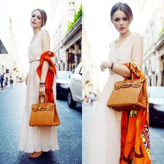 HERMES IN MILAN + CONTEST (by Kristina Bazan) http://lookbook.nu/look/3882490-HERMES-IN-MILAN-CONTEST