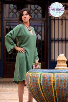 Kaftan Zahia・Moroccan Blue Palace lookbook