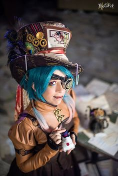 Steampunk Mad Hatter from Alice in Wonderland - by TwiSearcher85