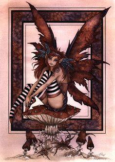 Amy-Brown-Naughty-Fairy-Print.jpg (427×600)