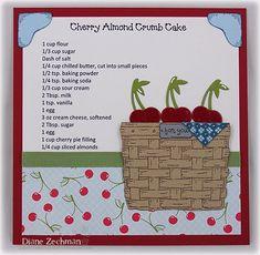 Cherry Almond Crumb Cake |