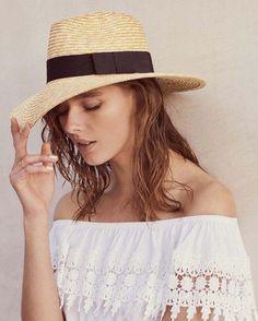 29471591b43 NEW Medium Brixton Joanna Natural Straw Fedora Sun Hat Urban Outfitters  44   fashion  clothing