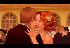 Black Widow and Hawkeye dance | Hawkeye & Black Widow Clint & Natasha