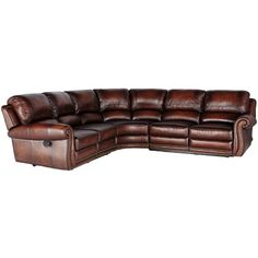 Parker Motion Sectional by Leather Italia USA - SofaDealers.com - Reclining Sectional Sofa