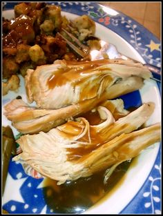 Make a Turkey Breast in your slow cooker.  Easy and delicious!