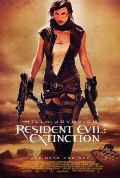 Resident Evil: Extinction 27x40 Movie Poster (2007)