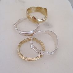 Molten Ring Silver – Eran Naylor Jewellery