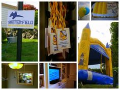 Papercourt Ponderings: Blue Angels birthday party