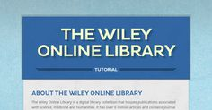 Danielle's Wiley Online Library tutorial
