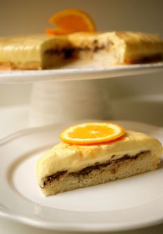 Bavarois Orange-Chocolat croquant - MyCookDiary