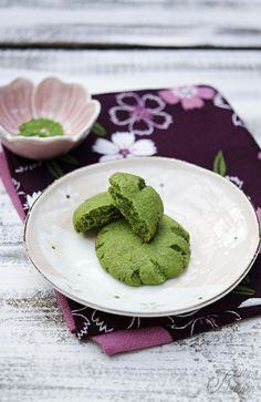 Cookie al tè matcha by Elisakitty's Kitchen, via Flickr